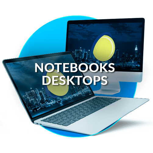 Notebooks e Desktops